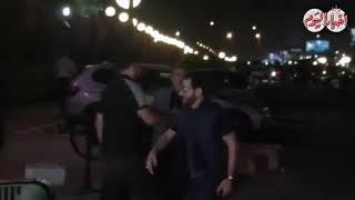 أخبار اليوم | أحمد حلمي يصل عزاء هيثم أحمد زكي -