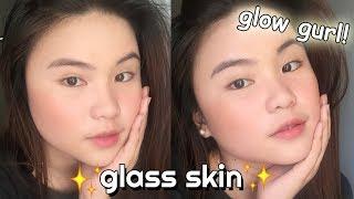 Korean Glass Skin Makeup | Kyla Denise