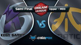 [PT-BR] Fnatic vs Keen Gaming - DreamLeague 11 - Dota 2 Major