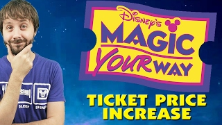 BREAKING: DISNEY PARKS TICKET PRICE INCREASE 2017