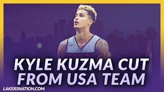 Lakers News Feed: Kyle Kuzma Cut From USA Basketball Team