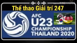 Lịch thi đấu U23 Châu Á 2020   U23 Việt Nam vs U23 UAE   VCK U23 2020 - Vòng loại Olympic Tokyo 2020