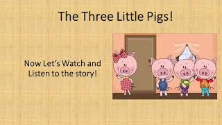 Fairy Tale Podcast  3 Little Pigs