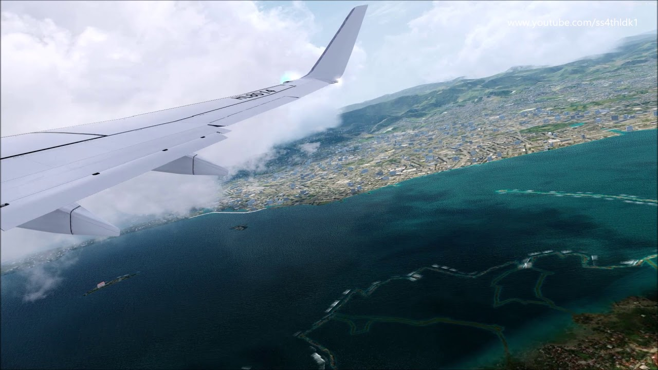 P3D v4 5 PMDG 737 Jin air 026 Cebu to Seoul on vatsim