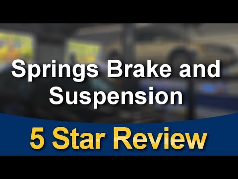 5-STAR REVIEW VIDEO FOR SPRINGS BRAKE AND SUSPENSION VANCOUVER WONDERFUL 5-STAR REVIEW BY G. EMBRY
