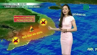 VTC14 | Thời tiết cuối ngày 27/03/2018 |  Ngày mai, KV Bắc Bộ mưa nhiều, Nam Bộ hanh khô nắng nóng