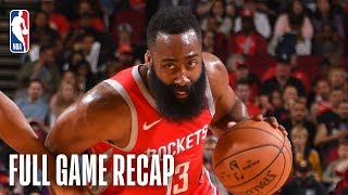 SUNS vs ROCKETS   Houston Knocks Down NBA-Record 27 3-Pointers   April 7, 2019