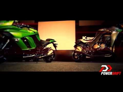 Kawasaki Ninja 1000 & Z1000 First look: PowerDrift