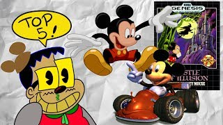 Roy C's Top 5 Mickey Mouse Games