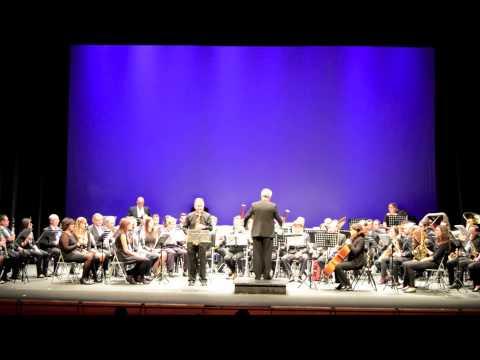 TREPIDANT Concierto para Saxofón Alto y Banda ENRIQUE DE TENA