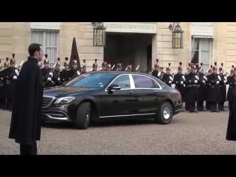 One Planet Summit - Déjeuner offert par le Président Emmanuel Macron en l'honneur des Chefs d'Etat et de délégations