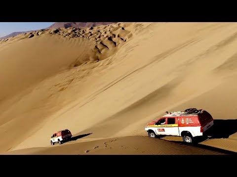 Reconnaissance of the route in Peru - Dakar 2018