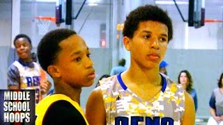 Johnathan McGriff vs Cole Anthony - Class of 2019 Basketball Battle
