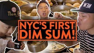 CLASSIC DIM SUM PARLOR! - Nom Wah NYC - Fung Bros Food