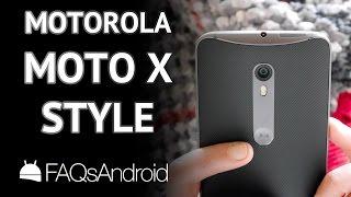 Video Motorola Moto X Style 32GB Negro oVuOyHIb-eg