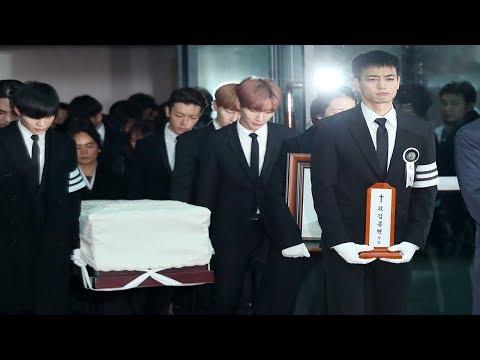 [SHINee 종현 발인] 소녀시대•슈퍼주니어•샤이니 눈물속 운구행렬