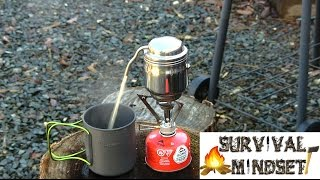 Esbit Coffee Pot In Action Camping Hiking Bushcraft