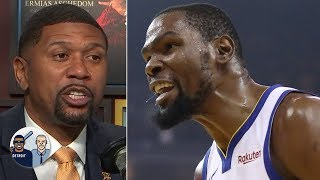 Kevin Durant is being 'sensitive' for firing back at Chris Broussard - Jalen Rose | Jalen & Jacoby