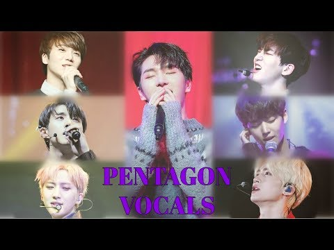 PENTAGON's Amazing Vocals