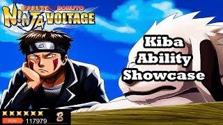 Kiba Inuzuka Ability Showcase | Naruto x Boruto Ninja Voltage