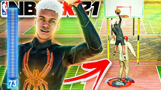 The Result of a 73 Driving Dunk is shocking on NBA2K21