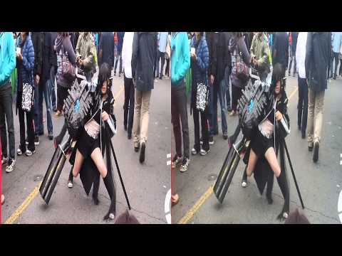 Black Rock Shooter Cosplay @ J-Pop Summit San Francisco (YT3D:Enable=True)