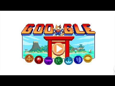 (試玩)迎接2020東京奧運,Google推出期間限定網頁遊戲!16bit日系RPG風格結合桃太郎、日本傳說、運動競技,甚至音遊!瀏覽器打開Google首頁,手機、電腦都能玩!