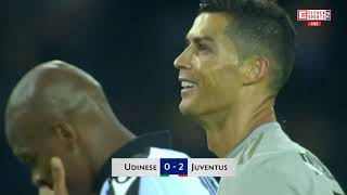 Cristiano Ronaldo Vs Udinese Away 2018  HD 1080i