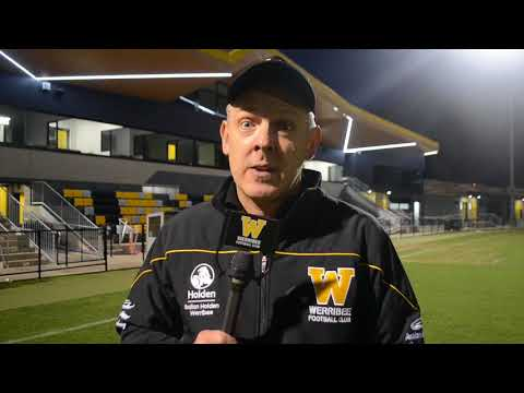 John Lamont: round 7 post game (Werribee vs Footscray)