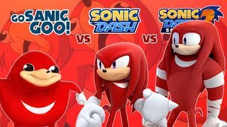 Race Against Knuckles': Ugandan Knuckles vs Boom Knuckles & Knuckles: Which is Better?