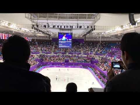 2018 평창동계올림픽 피겨스케이팅 남자싱글 SP Yuzuru Hanyu
