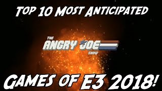 Top 13 Most Anticipated Games of E3 2018!