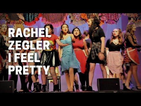 Rachel Zegler singing I Feel Pretty from West Side Story