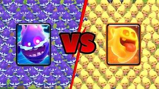 Electro Spirit vs Heal Spirit | Clash Royale Challenge #13