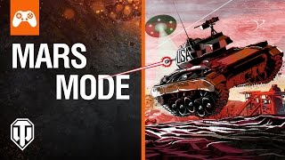 World of Tanks attacking Mars