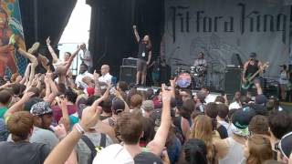 Fit For A King - Stacking Bodies (Vans Warped Tour 2017, ATL)