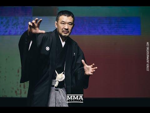 Kazushi Sakuraba nałogowym palaczem w trakcie kariery MMA