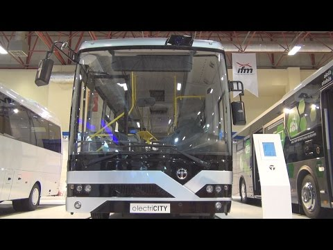 Temsa MD9 electriCITY Bus (2016) Exterior and Interior in 3D