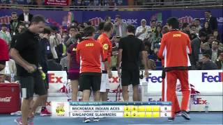 Day 8 - Match 15 | Micromax Indian Aces vs DBS Singapore Slammers