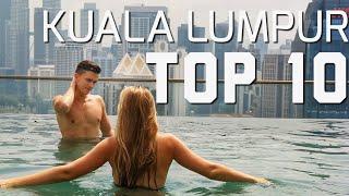 TOP 10 THINGS TO DO IN KUALA LUMPUR,MALAYSIA / INSANE MALLS,NASI LEMAK...