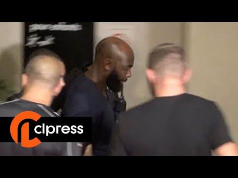 Booba et Kaaris en prison avant leur procès en septembre (3 août 2018, Créteil, France)