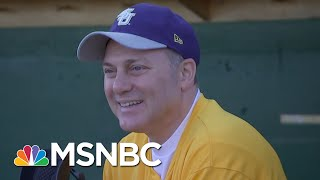 A Year After Shooting, U.S. Representative Steve Scalise Back On The Field   Morning Joe   MSNBC