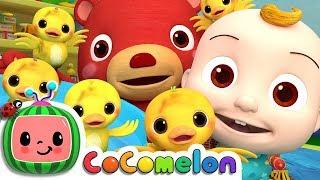 The Duck Hide and Seek Song | CoCoMelon Nursery Rhymes & Kids Songs
