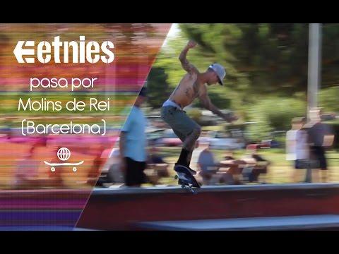 Etnies en Molins de Rei (Barcelona): Sheckler, Ryan Lay, Trevor McClung...