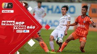 Tổng hợp vòng 22 V.League 2019 | CLB TP. HCM và HAGL ngược dòng ngoạn mục | VPF Media