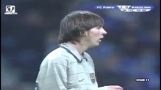 Día Histórico: Debut de Lionel Messi en Barcelona - 16/11/2003