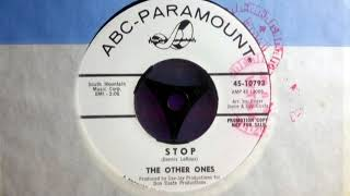 Northern Mod - THE OTHER ONES - Stop - ABC PARA 10793 USA 1966 Soul Dancer