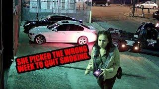 Towed BMW Leads To Mayhem