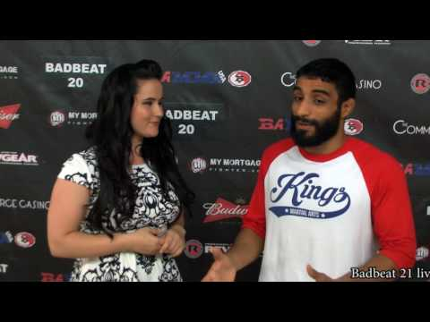 Adel Altamimi Badbeat 20 Post Fight Interview