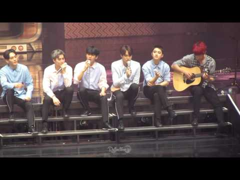 160723 The EXO'rDIUM in Seoul - Acoustic ver. (D.O. focus)